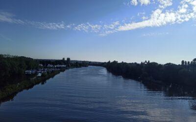 Runde 31: Kitzingen nach Ochsenfurt und zurück